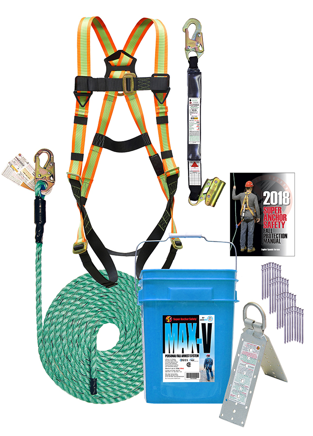Super Anchor 3200-25-US 25' Safety Kit