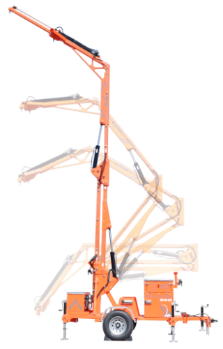 Malta X1250 Mobile Grabber Fall Protection System -  3 Man