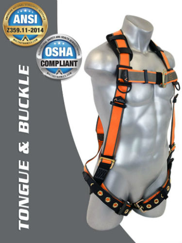 Malta B2003-X Tongue and Buckle Harness XL-XXL
