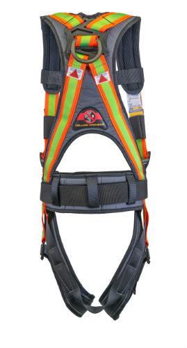 Super Anchor 6101H Hi Viz Deluxe Harness