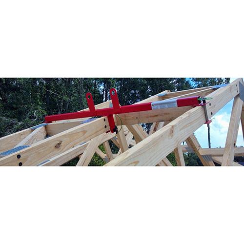 "Super Anchor 2x4/2x6 Combination Safety Bar #1012- 24"" OC x 48"" Length"
