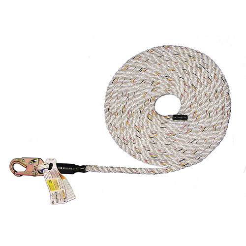 Super Anchor #4020 3-Strand Value Lifeline + Snaphook