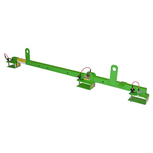 Super Anchor #1017C 4x2 Adjustable Floor Joist Safety Bar