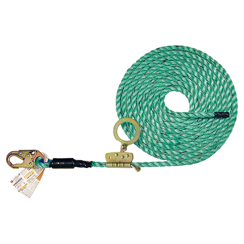 Super Anchor 4084-50Z Maxima Lifeline with Snap-hook & ADP Rope Grab