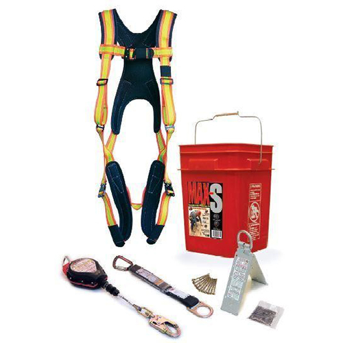 Super Anchor 3204 MAX-S 20ft. SRL Fall Protection Kit: 2904k + PD-6101-HL +I6061 + 5006 + 3013-D USA Version