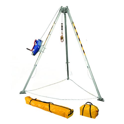Falltech Tripod Kit SST 7276 +7281S 3-way/SRL-R +Bags F7508S