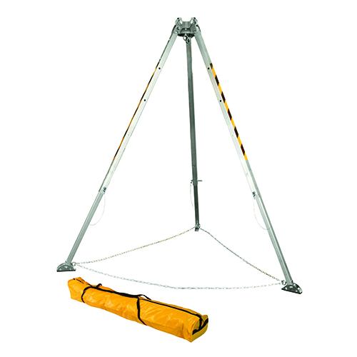 Falltech Confined Space Tripod 5' - 8' Adjustable w/Storage Bag F7276