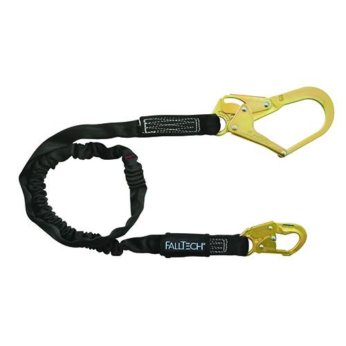Falltech 6' SAL Single Leg; Heavyweight with Hooks