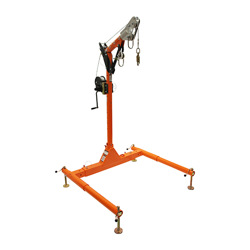 "Falltech 5pc Confined Space Davit System 12"" to 29"" w/60' Winch"