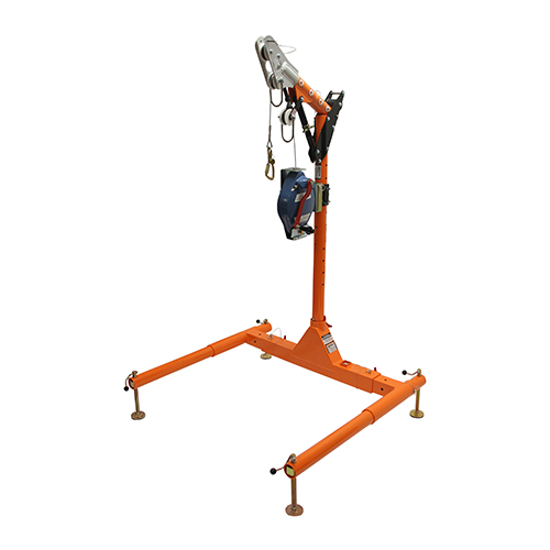 """Falltech 5pc Confined Space Davit System 12"""" to 29"""" w/60' SRL-R"""