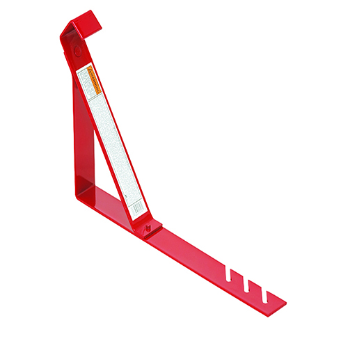 "FIXED ROOF BRACKET STEEL 6"" RED"