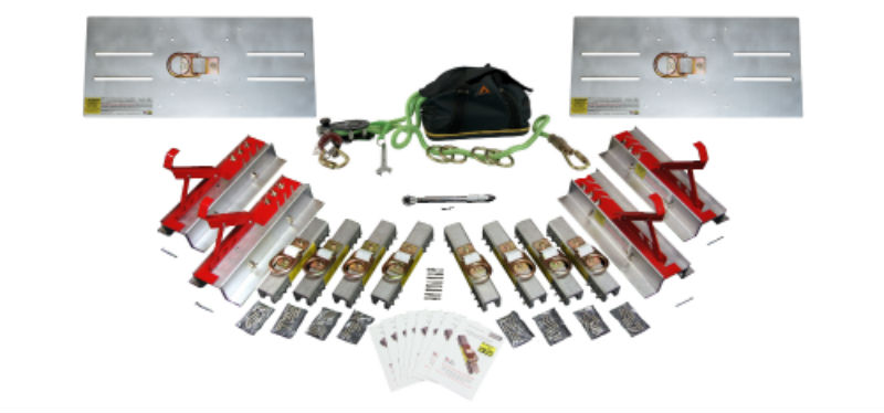Ultimate Pro Pack with SSRA1, SSRA2 Roof Jack Adapters, and SSRA3 Anchor Plates