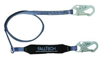 FallTech 8253 ViewPack Shock Absorbing Lanyard 3', 4', and 6' - Minimizes Internal Injuries During Falls!