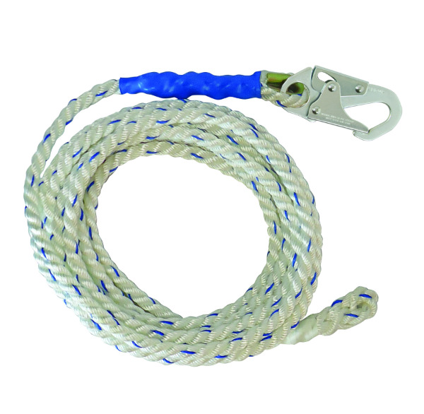 FallTech 8150 Polyester Vertical Lifeline Rope - 25', 50', 75', 100', 150', 200' Lengths Available