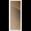 12in x 3in, .040, Mirror Finish, Brass Push Plate