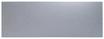 10in x 18in - .040, 5052, Satin #4 (Brushed) Finish, Aluminum Kick Plates