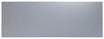 6in x 34in - .040, 5052, Satin #4 (Brushed) Finish, Aluminum Mop Plates