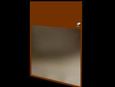 ".040 Mirror Aluminum Sheet 24/"" x 48/"""