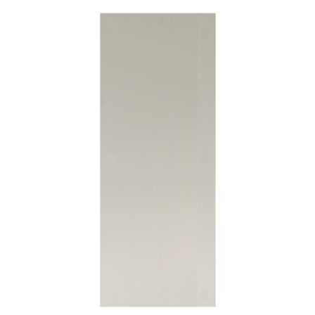 12in x 3in, .080, Satin Finish, Anodized Aluminum Push Plate