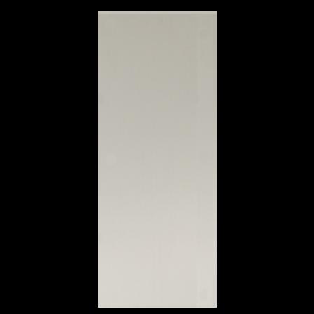 12in x 4in, .080, Satin Finish, Anodized Aluminum Push Plate
