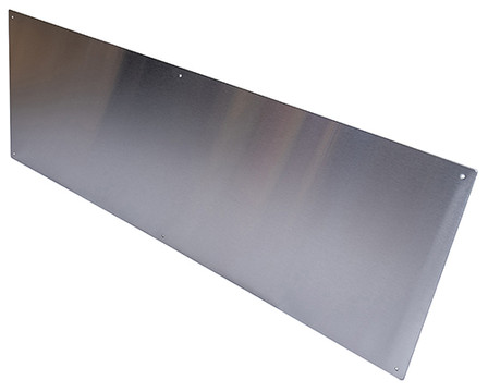 Stainless Steel Self-Adhesive, 800 x 150mm Kick Plate Brushed Stainless Steel Door Protection