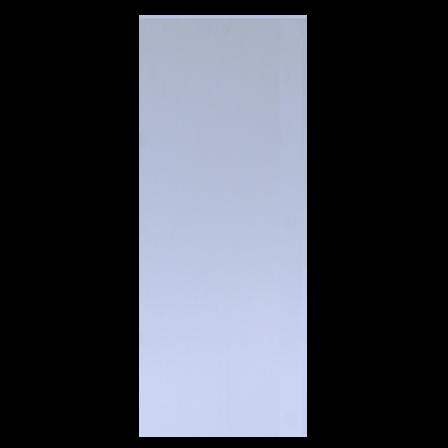 12in x 4in, .040, Brushed Finish, Aluminum Push Plate