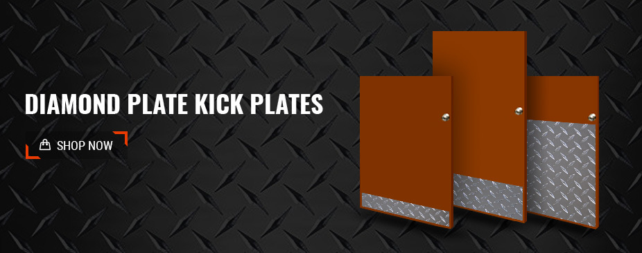 Shop Diamond Plate Kick Plates
