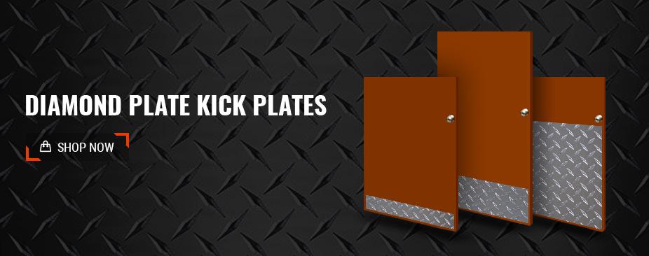 Shop Diamond Plate Kick Plates