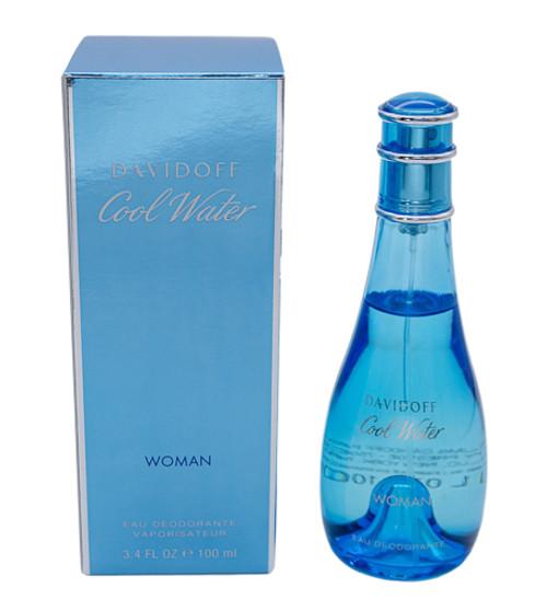 Cool Water by Davidoff 3.4 oz Deodorant Spray for women