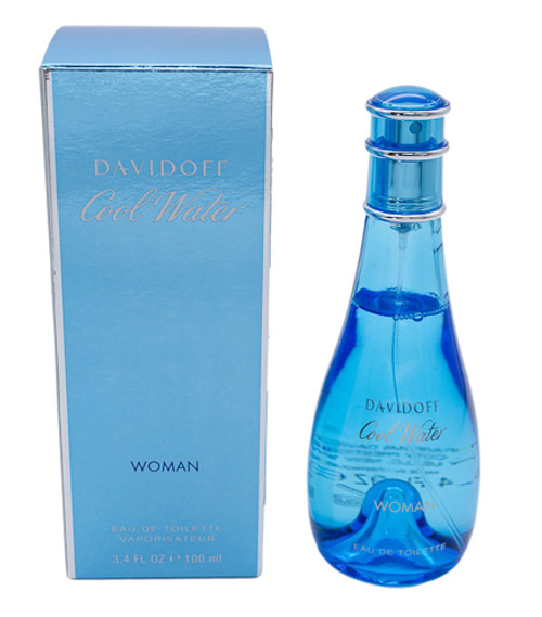 Cool Water by Davidoff EDT 3.4 oz for women
