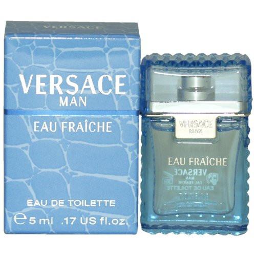 Versace Man Eau Fraiche by Versace .17 oz EDT mini for men