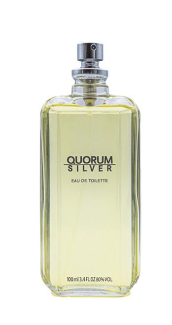 Quorum Silver by Antonio Puig 3.4 oz EDT for men Tester