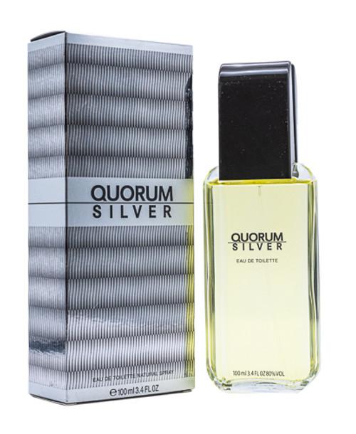 Quorum Silver by Antonio Puig 3.4 oz EDT for men