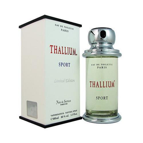 Thallium Sport by Yves De Sistelle 3.4 oz EDT for men
