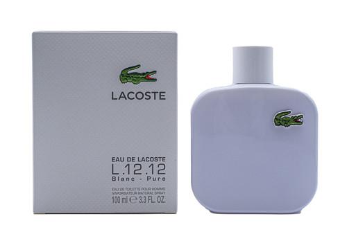 Lacoste Eau De Lacoste Blanc L.12.12 by Lacoste 3.4 oz EDT for men