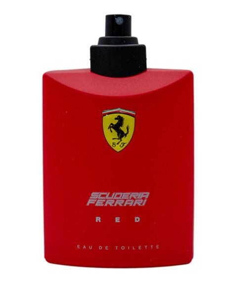 Ferrari Scuderia Red by Ferrari 4.2 oz EDT for men Tester