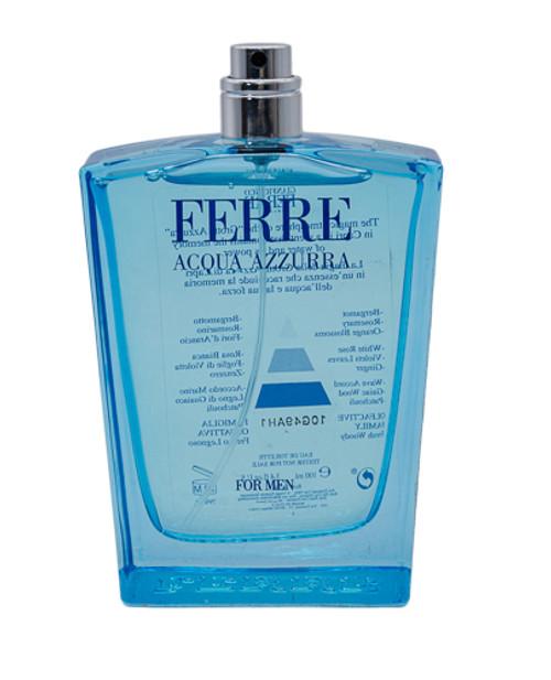 Ferre Acqua Azzurra by Gianfranco Ferre EDT 3.4 oz EDT Unisex Tester