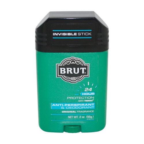 Brut Anti-Perspirant & Deodorant Original Scent by Faberge 2 oz Deodorant for men