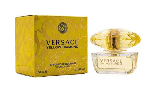 Versace Yellow Diamond by Versace 1.7 oz Perfumed Deodorant Spray for Women