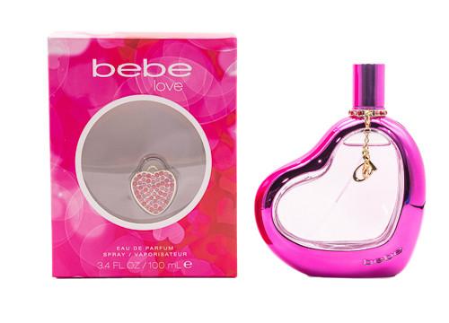 Bebe Love by Bebe 3.4 oz EDP for women