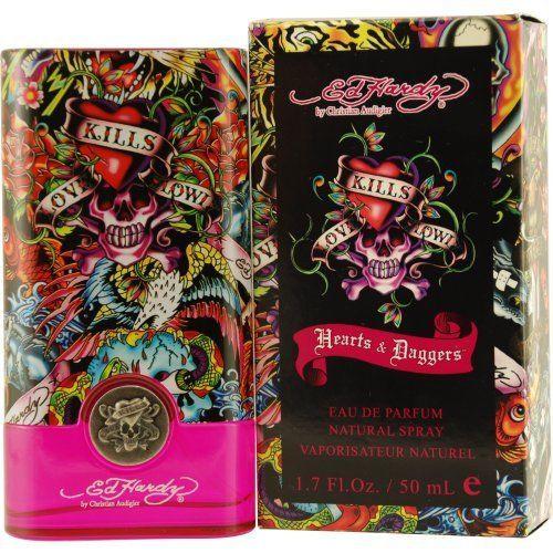 Ed Hardy Hearts & Daggers by Christian Audigier 1.7 oz EDP for Women
