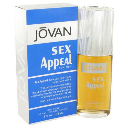 Jovan Sex Appeal by Jovan 3.0 oz Cologne Spray for Men