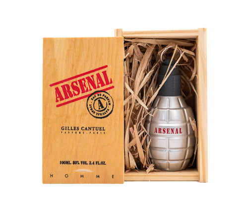 Arsenal Grey by Gilles Cantuel 3.4 oz EDP for Men