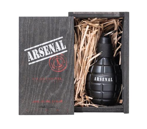 Arsenal Black by Gilles Cantuel 3.4 oz EDP for Men