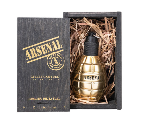 Arsenal Gold by Gilles Cantuel 3.4 oz EDP for Men
