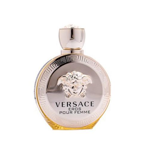 Versace Eros Pour Femme by Versace 3.4 oz EDP for women Unboxed