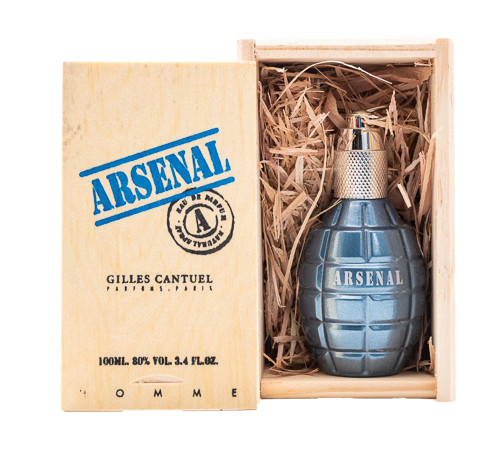 Arsenal Blue by Gilles Cantuel 3.4 oz EDP for Men