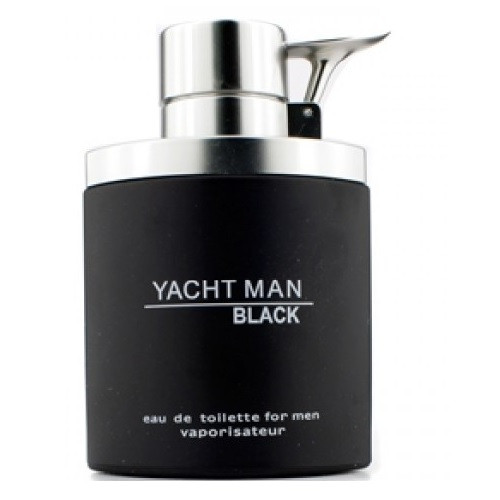 Yacht Man Black by Myrurgia 3.4 oz EDT for Men Tester