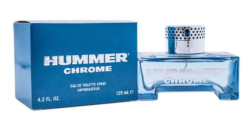Hummer Chrome by Hummer 4.2 oz EDT for Men