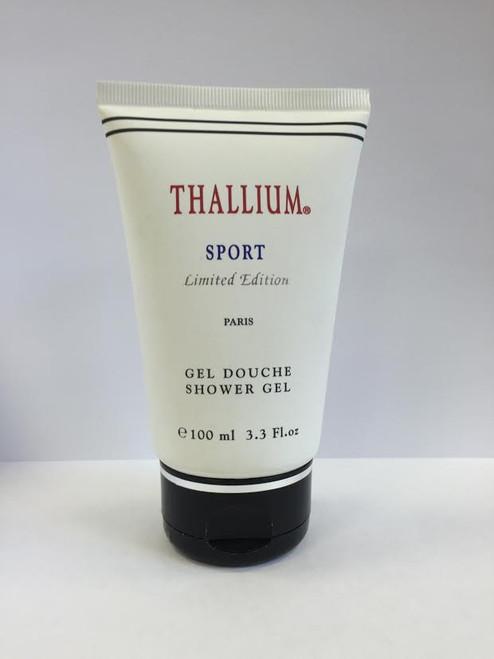 Thallium Sport by Yves de Sistelle 3.3 oz Shower Gel for Men